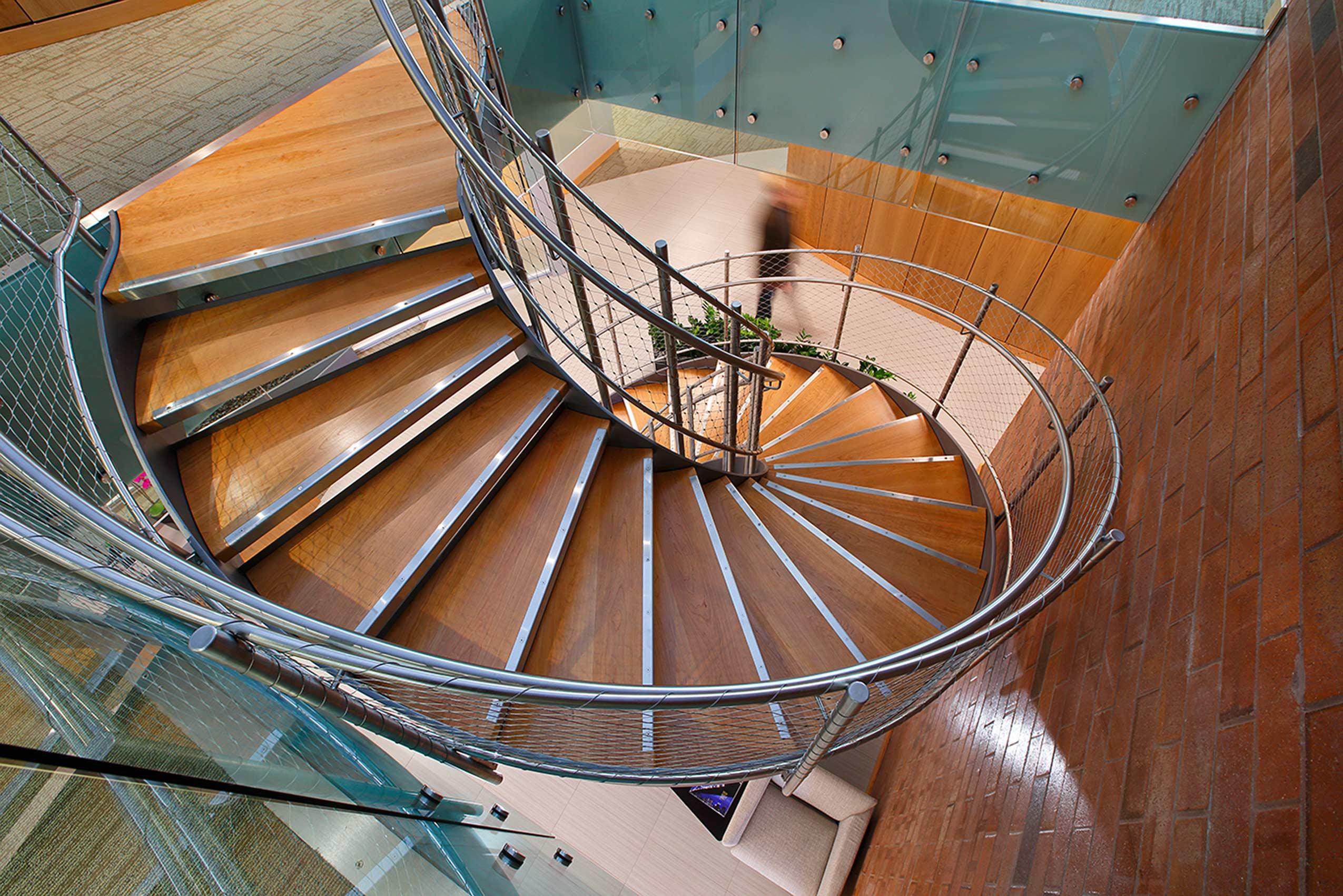 Spiral Stairecase Utah Architect