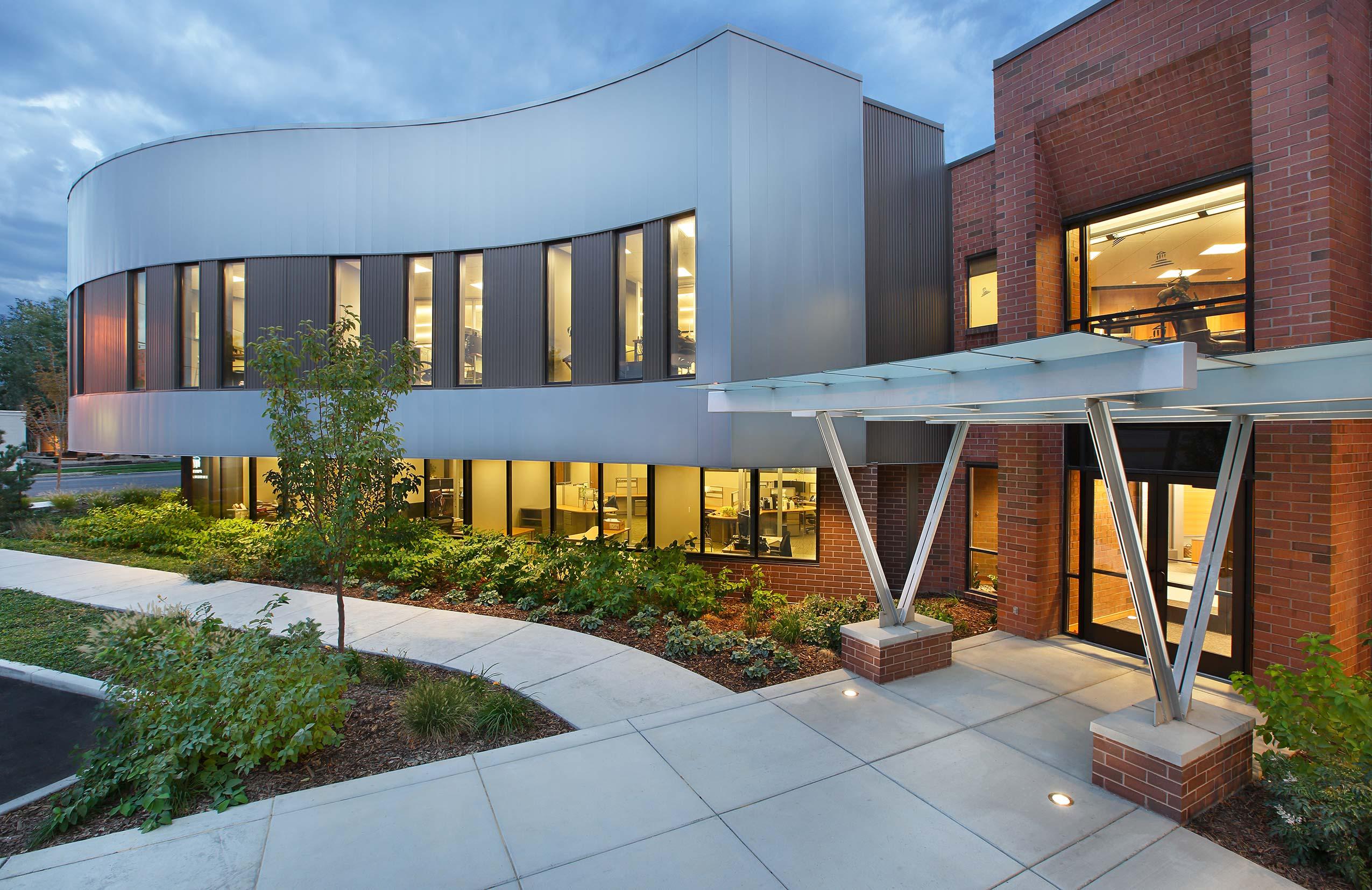 Prime Insurance Exterior Utah Architect