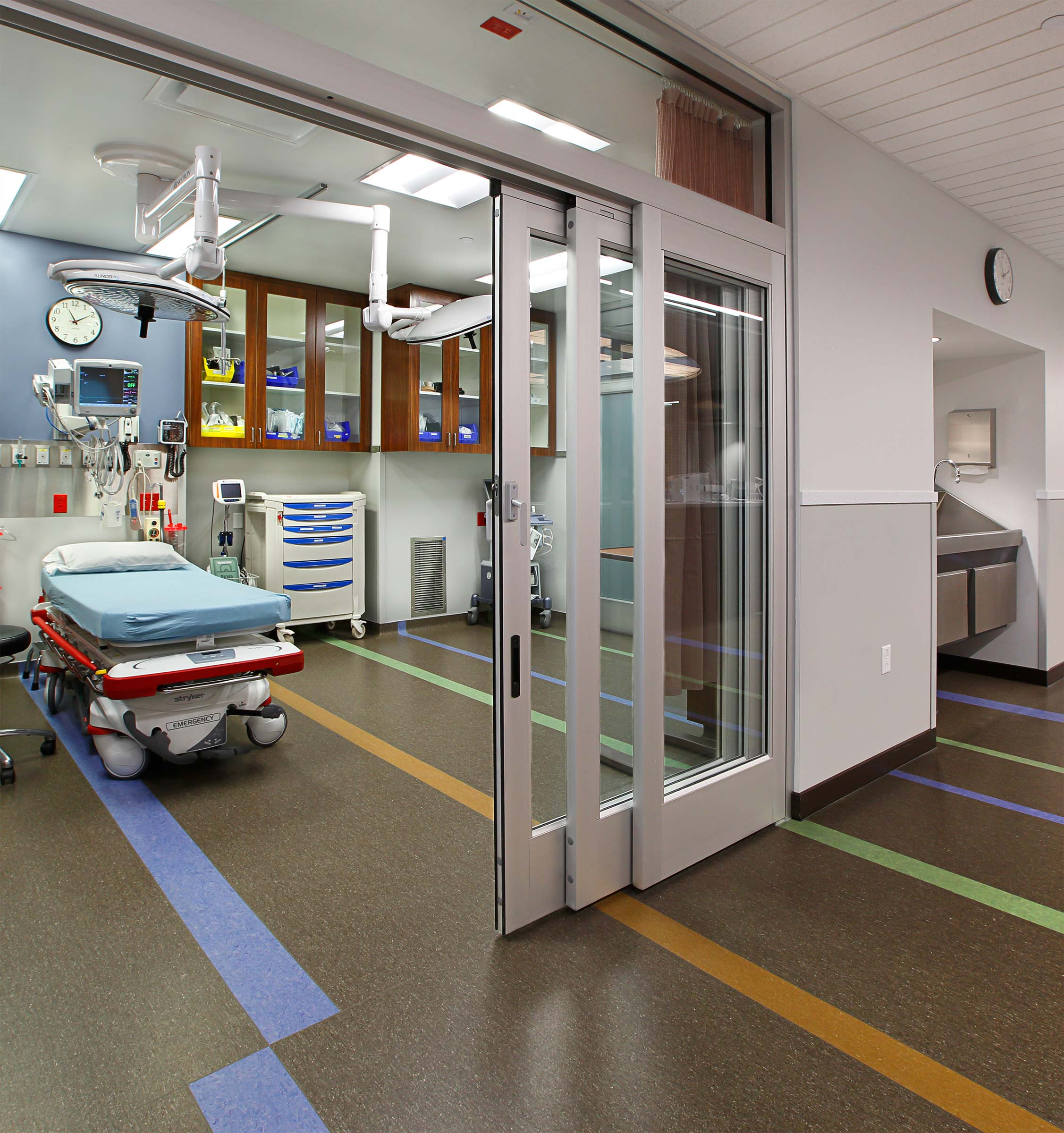 Emergency Trauma Room Healthcare Architecture