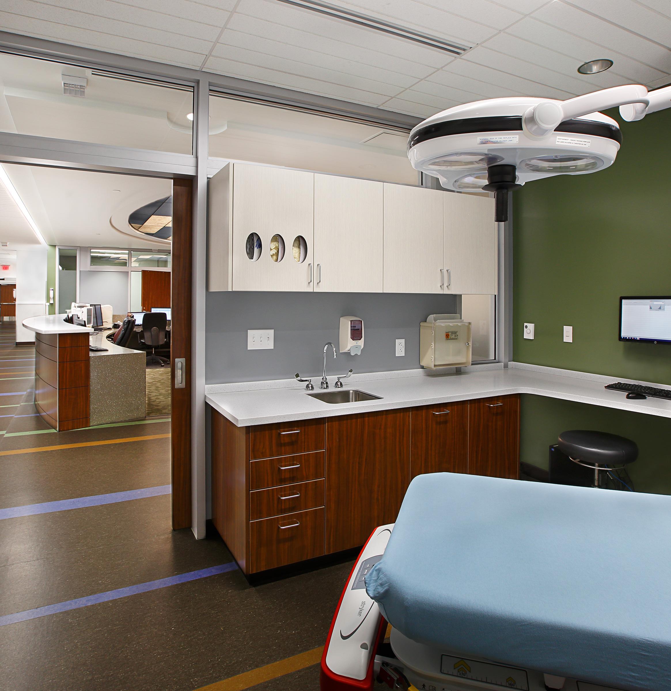 Patient Room Utah Healthcare Architecture