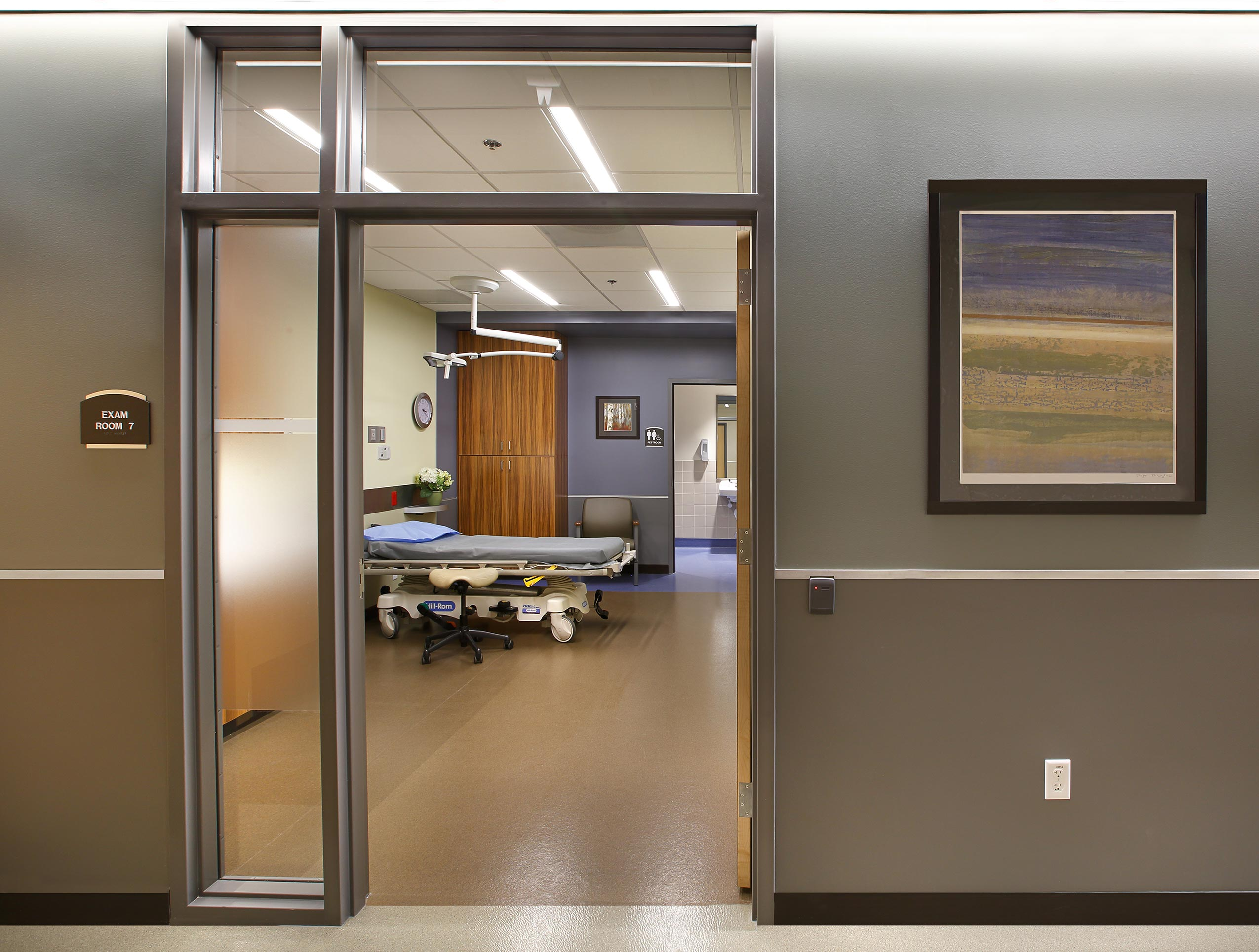 Patient Room Utah Healthcare Architects