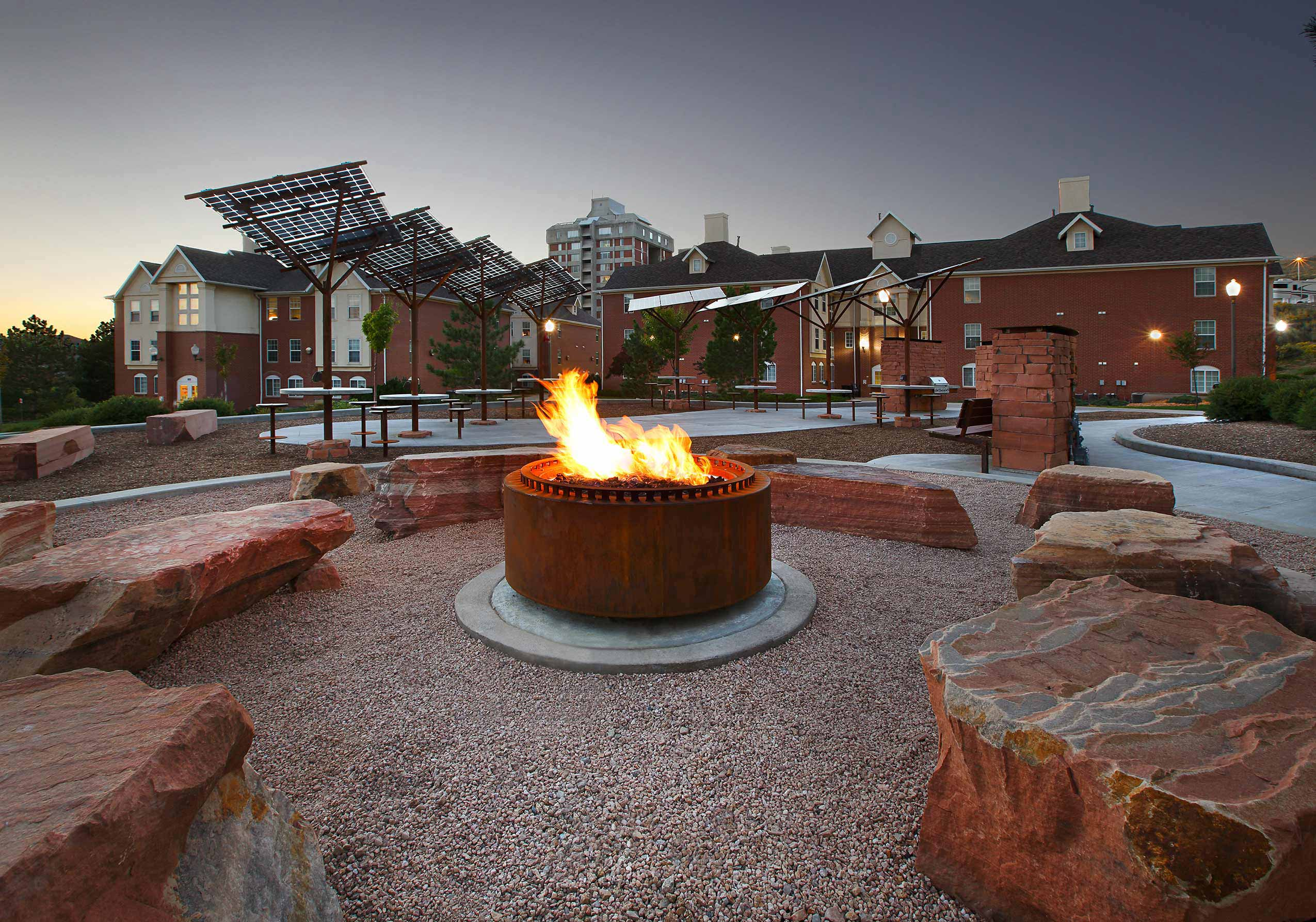 University of Utah Shoreline Pavilion Landscape Architecture