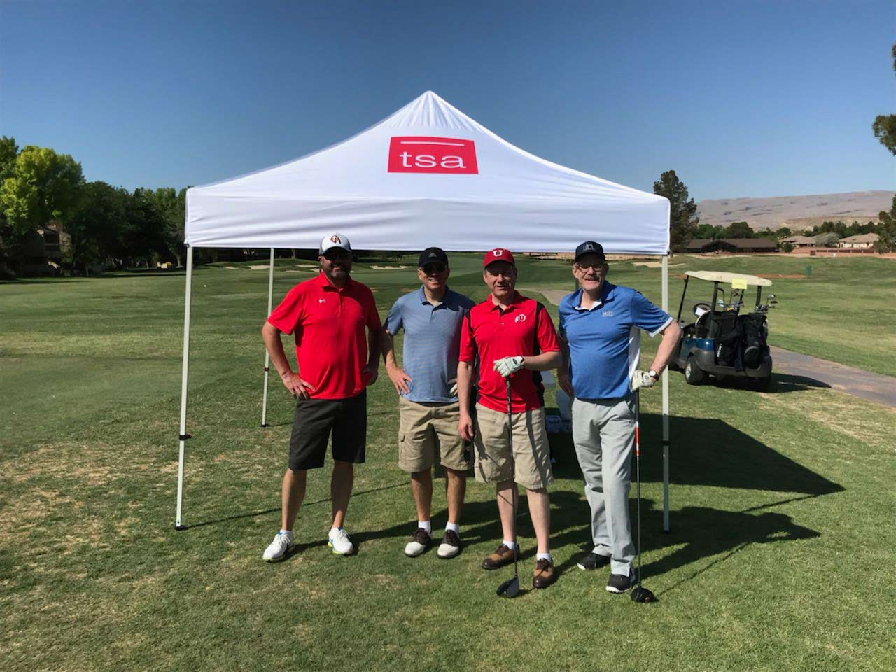 tsa architects utah healthcare architects golf foursome