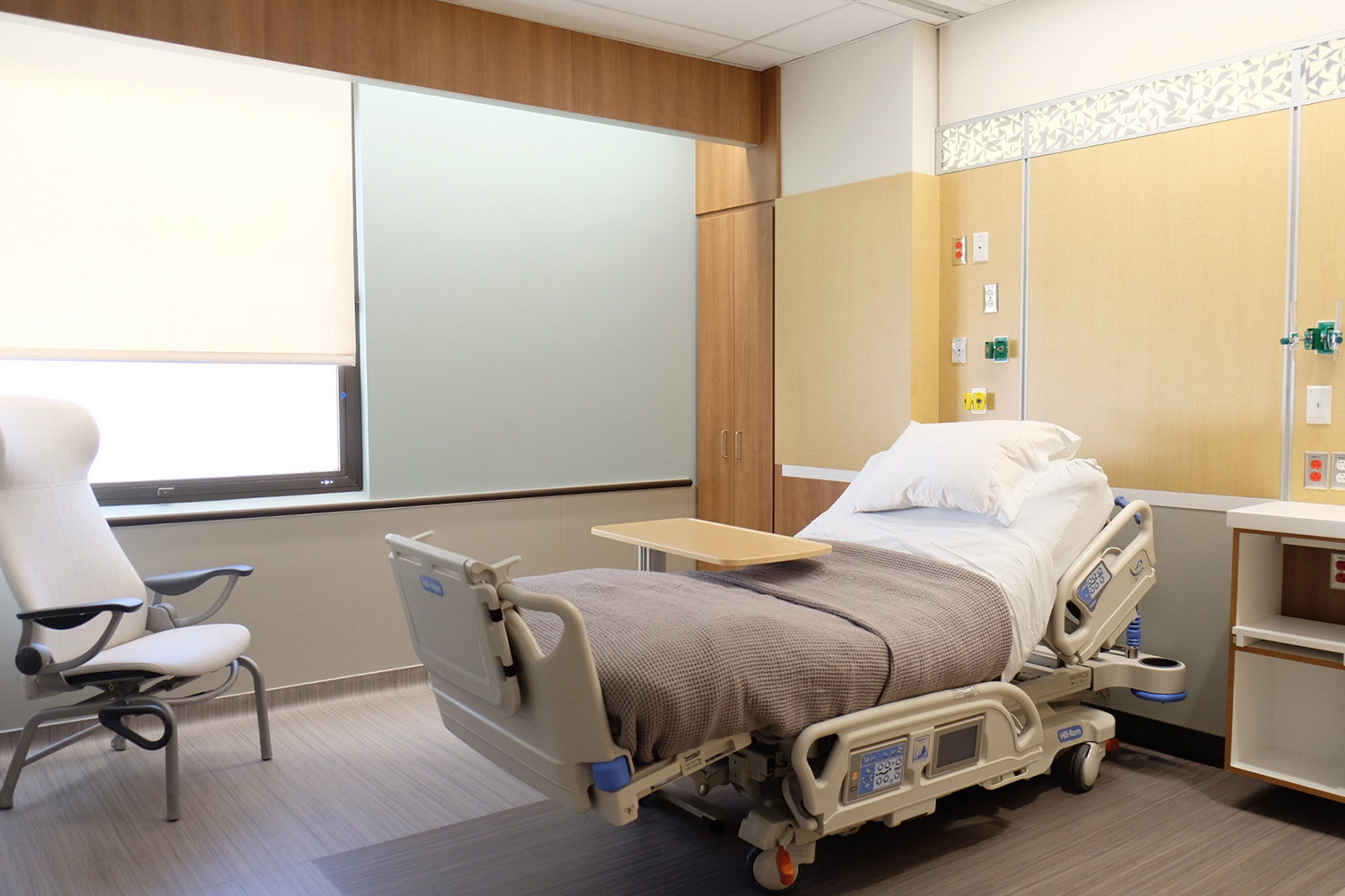 University of Utah Patient Room of the future actual finished project