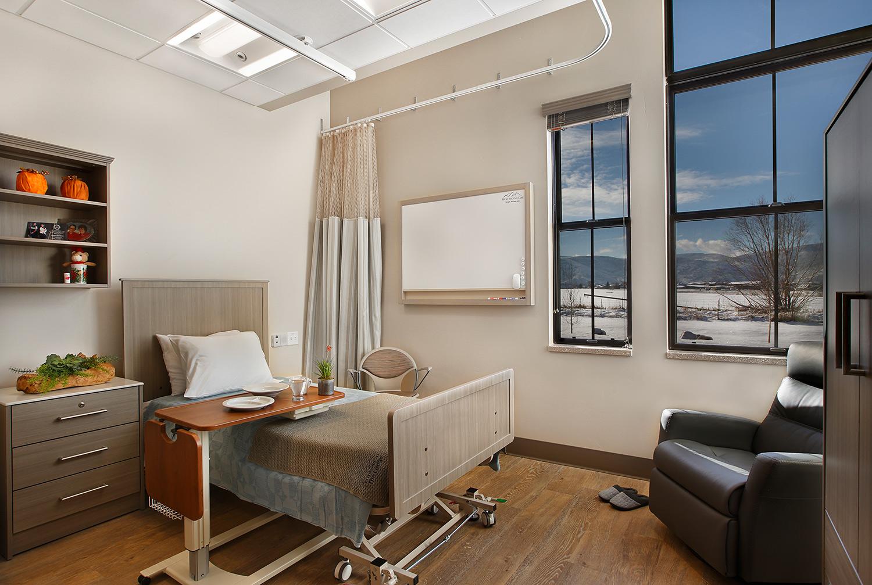 RMC Heber Patient Room TSA Architects