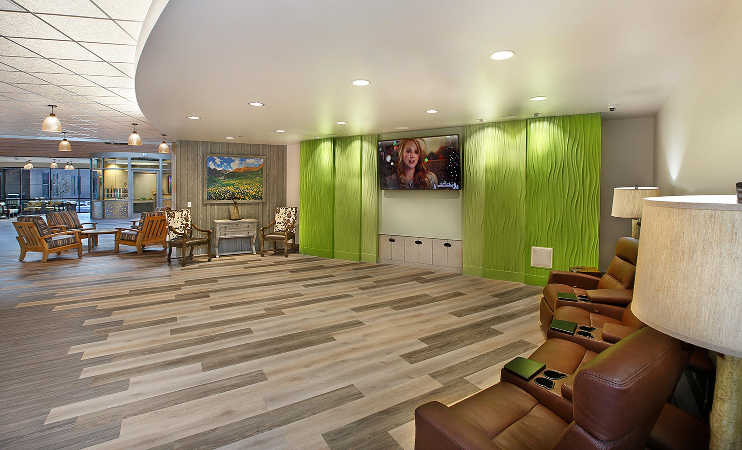 RMC Heber Media Room TSA Architects