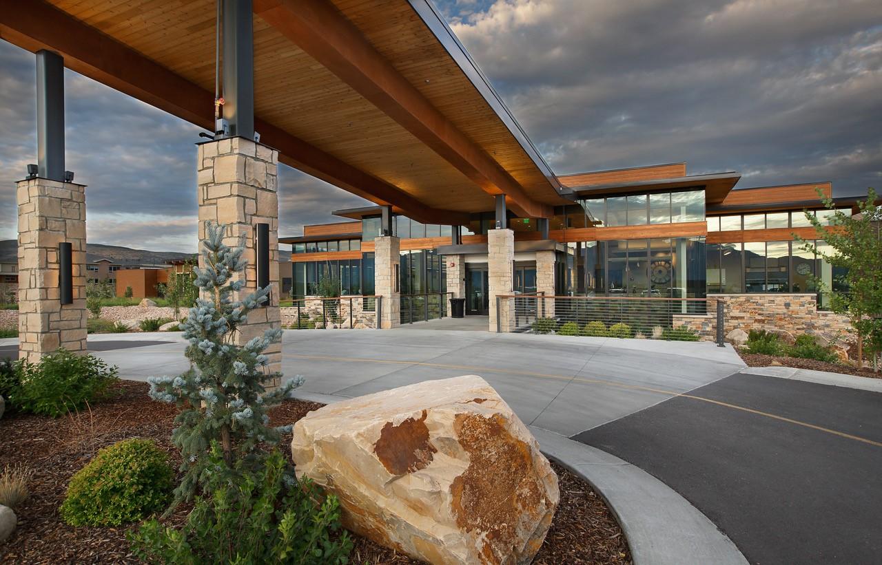 Utah Skilled Nursing Center designed by senior care architecture firm TSA Architects