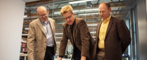 Tracy Stocking, Nathan Murray and Doug Banks Utah Health Care Architects