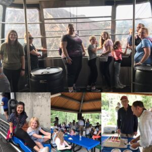 montage of pictures of our staff at Snowbird